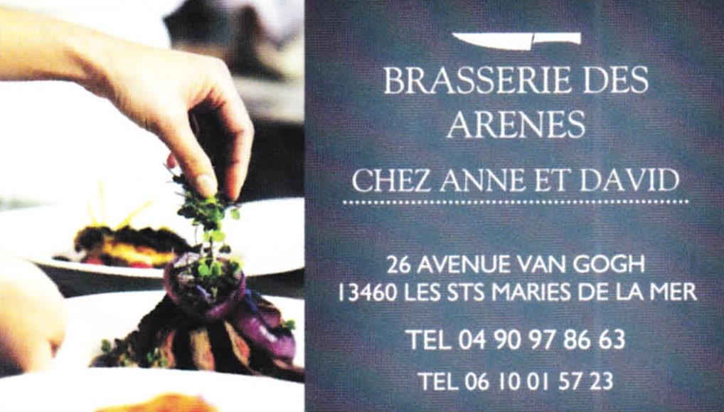 Brasserie des Arènes