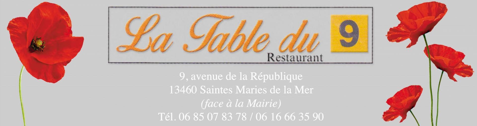 La Table du 9