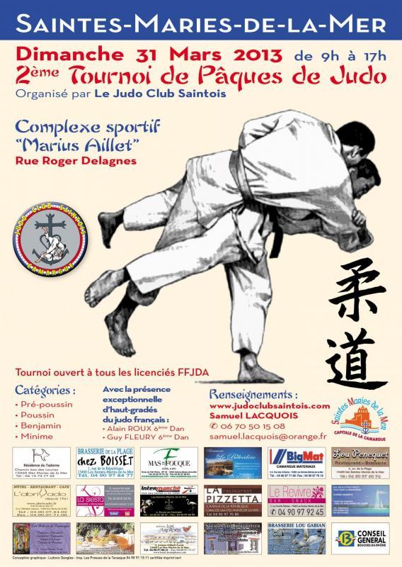 Affiche tournoi 2013